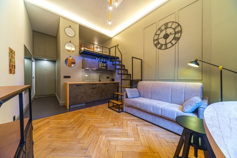 1-комн. квартира, 35 кв.м. на 3 человека, набережная реки Фонтанки, 54, Санкт-Петербург - Фотография 1