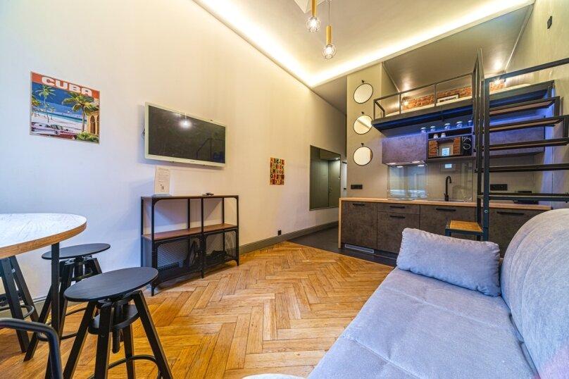 1-комн. квартира, 35 кв.м. на 3 человека, набережная реки Фонтанки, 54, Санкт-Петербург - Фотография 9