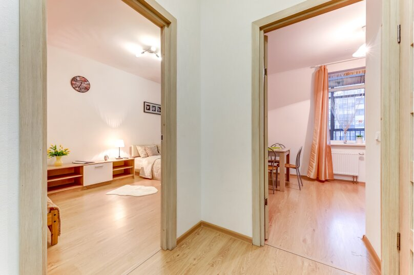 1-комн. квартира, 35 кв.м. на 3 человека, улица Адмирала Черокова, 20, Санкт-Петербург - Фотография 2