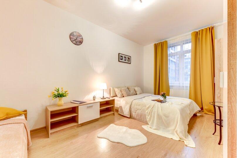 1-комн. квартира, 35 кв.м. на 3 человека, улица Адмирала Черокова, 20, Санкт-Петербург - Фотография 3