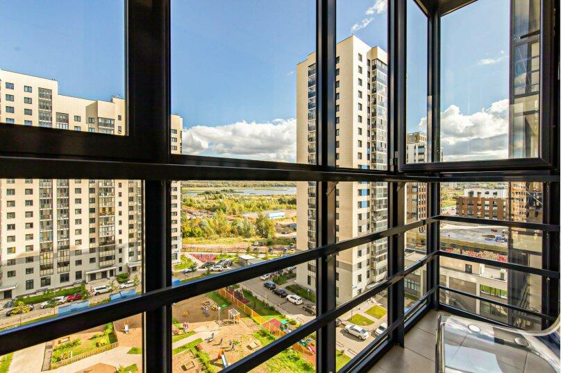 2-комн. квартира, 66 кв.м. на 4 человека, улица Алексея Козина, 3А, Казань - Фотография 14