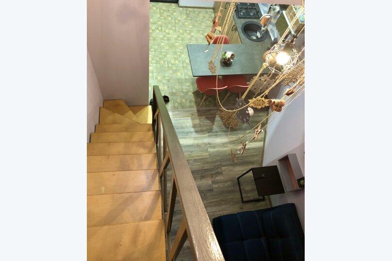 2-комн. квартира, 47 кв.м. на 5 человек, Садовая улица, 24/1, Ялта - Фотография 3