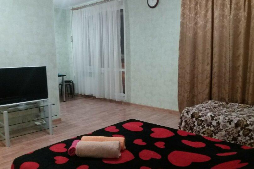 Уютная квартира в центре , 40 кв.м. на 5 человек, 1 спальня, улица Бориса Домашникова, 22, Уфа - Фотография 1