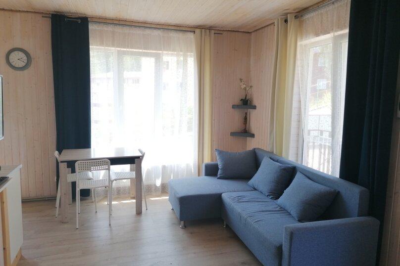 2-комн. квартира, 40 кв.м. на 4 человека, ст Сутугинское, 77, Хоста - Фотография 1