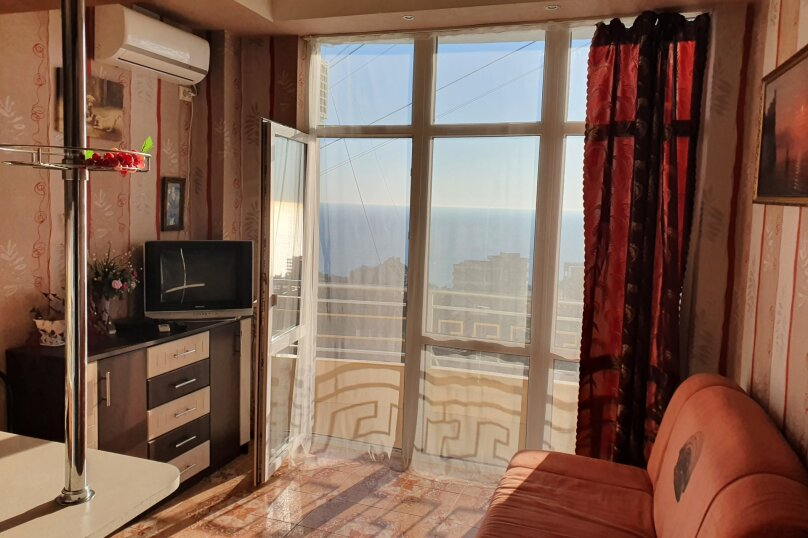 1-комн. квартира, 18 кв.м. на 2 человека, Маратовская улица, 20е, Гаспра - Фотография 12