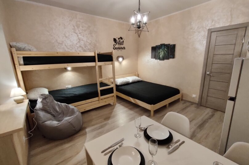 1-комн. квартира, 21 кв.м. на 5 человек, Качинское шоссе, 33Б, посёлок Орловка, Севастополь - Фотография 1