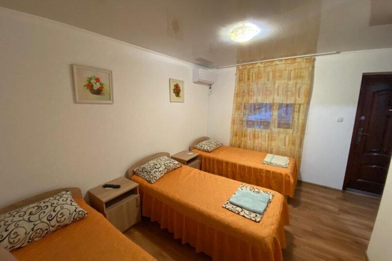 3-х местный стандарт с раздельными кроватями, улица Южногородская, 24, посёлок Любимовка, Севастополь - Фотография 1