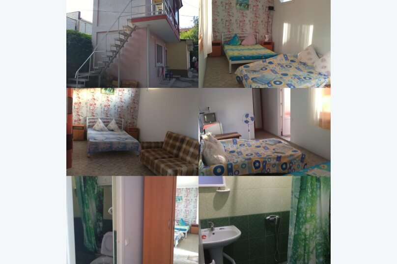 комната №6 (четырёхместная) на втором этаже с балконом., Земская улица, 5, Феодосия - Фотография 1