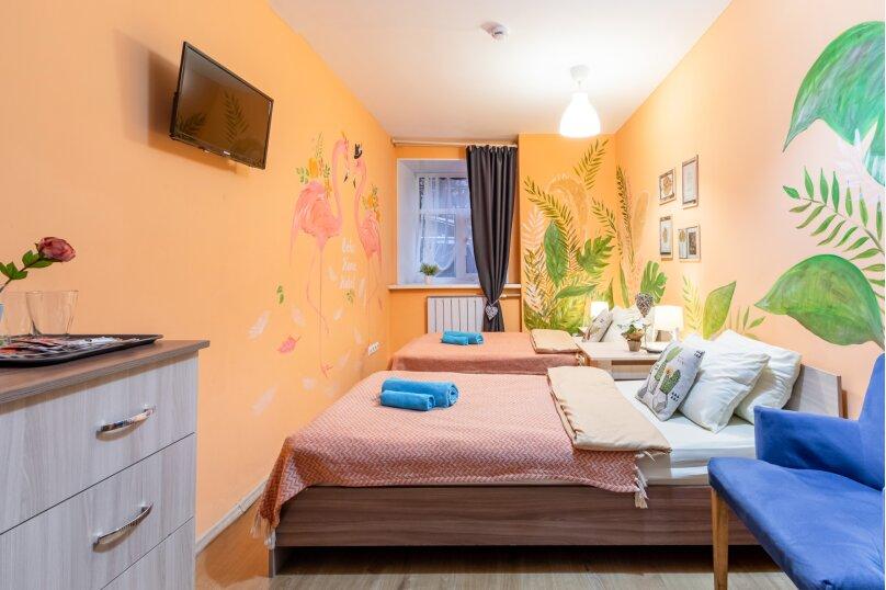 2-х местный номер с раздельными кроватями, Пушкинская улица, 8, Санкт-Петербург - Фотография 7