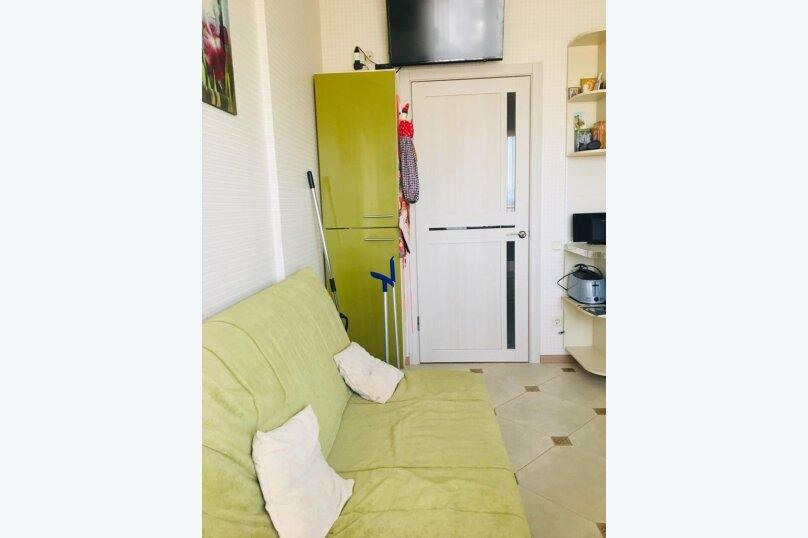 1-комн. квартира, 45 кв.м. на 4 человека, Абрикосовая улица, 21, Кабардинка - Фотография 1