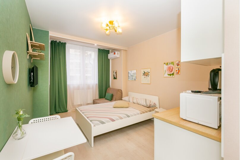1-комн. квартира, 23 кв.м. на 3 человека, Конгрессная улица, 17, Краснодар - Фотография 2