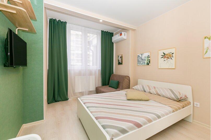 1-комн. квартира, 23 кв.м. на 3 человека, Конгрессная улица, 17, Краснодар - Фотография 5