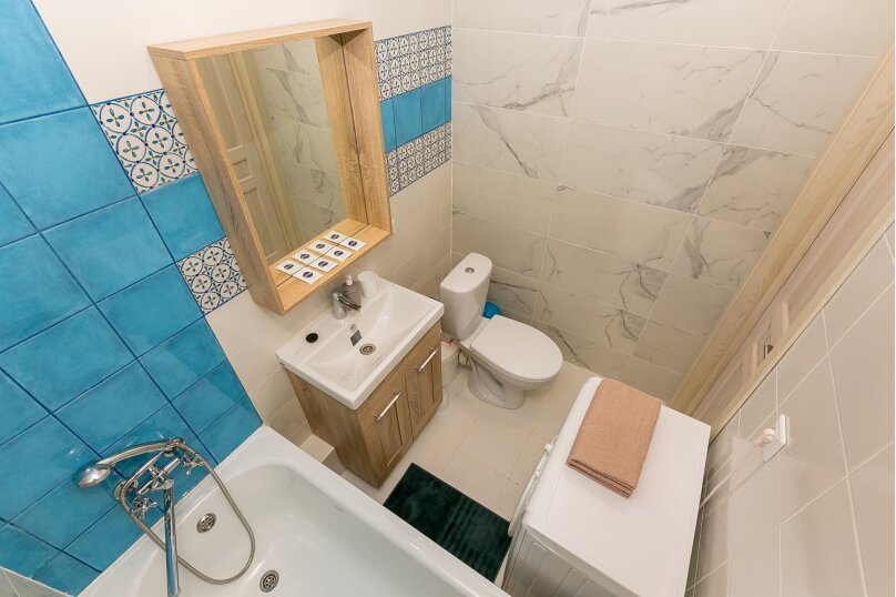 1-комн. квартира, 23 кв.м. на 3 человека, Конгрессная улица, 17, Краснодар - Фотография 6