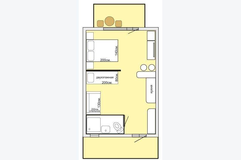 Отдельная комната, Карлеутская улица, 12, Межводное - Фотография 1
