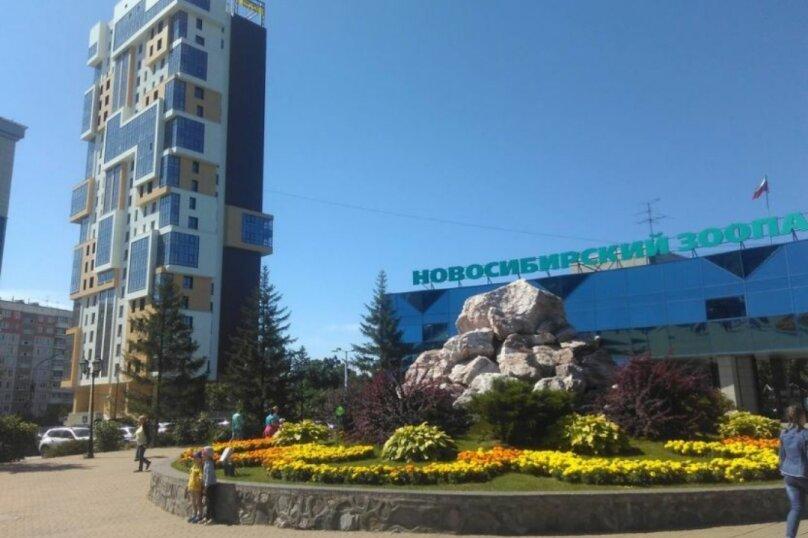 2-комн. квартира, 45 кв.м. на 4 человека, улица Тимирязева, 73/1, Новосибирск - Фотография 1