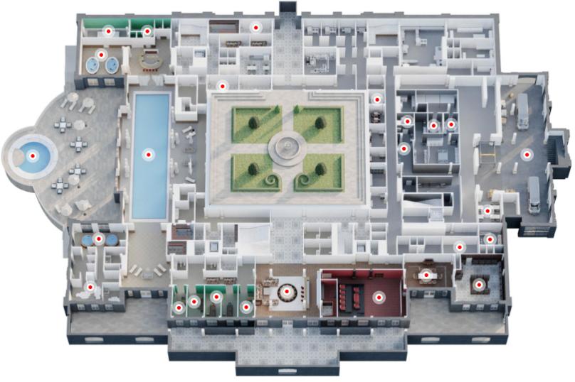 """Апарт-отель """"Гнилая гора"""" (Rotten Berg) - бронирование доступно в 2025 гг. , Замок, в Прасковеевке на 16 номеров - Фотография 9"""