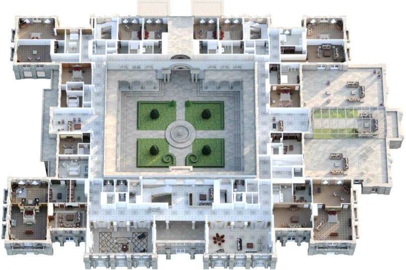 """Апарт-отель """"Гнилая гора"""" (Rotten Berg) - бронирование доступно в 2025 гг. , Замок, в Прасковеевке на 16 номеров - Фотография 11"""