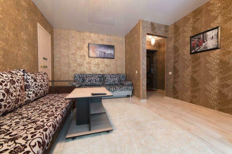 2-комн. квартира, 54 кв.м. на 6 человек, улица Цвиллинга, 47Б, Челябинск - Фотография 9