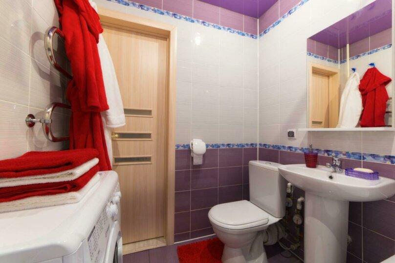 2-комн. квартира, 54 кв.м. на 6 человек, улица Цвиллинга, 47Б, Челябинск - Фотография 18