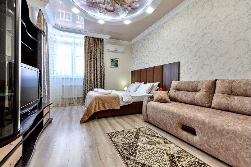 1-комн. квартира, 52 кв.м. на 3 человека, Казбекская улица, 19, Краснодар - Фотография 1