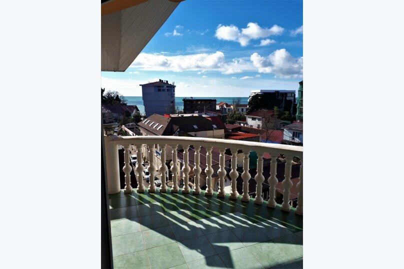 Четырехместный с балконом , улица Ульянова, 10, Адлер - Фотография 10