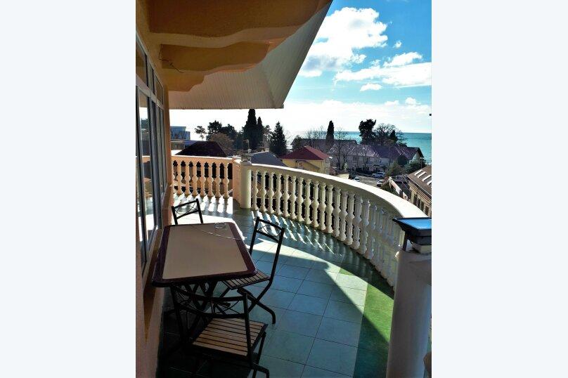 Четырехместный с балконом , улица Ульянова, 10, Адлер - Фотография 13