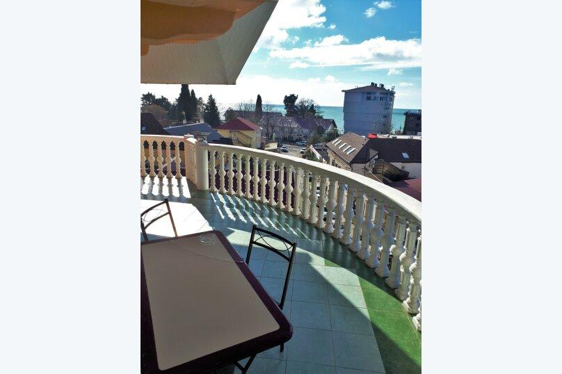 Четырехместный с балконом , улица Ульянова, 10, Адлер - Фотография 14
