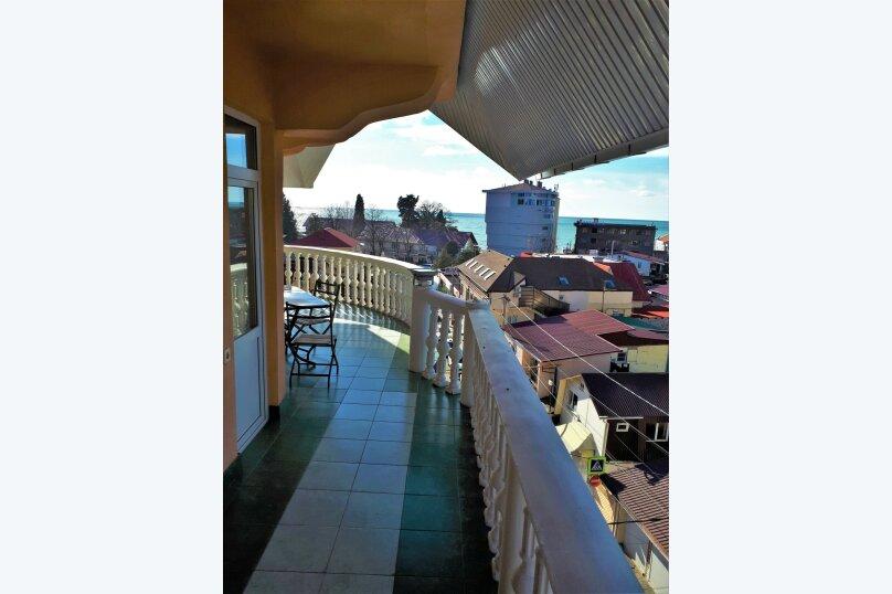 Четырехместный с балконом , улица Ульянова, 10, Адлер - Фотография 15
