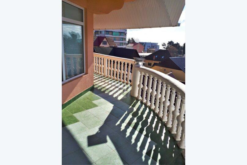 Четырехместный с балконом , улица Ульянова, 10, Адлер - Фотография 16