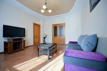 2-комн. квартира, 60 кв.м. на 4 человека, проспект Ленина, 30, Челябинск - Фотография 1