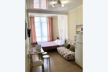 1-комн. квартира, 22 кв.м. на 3 человека, Туристическая улица, 4А, Геленджик - Фотография 1
