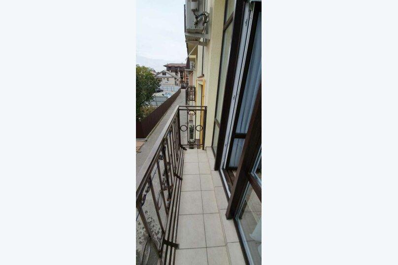 Двухкомнатный номер (корпус с зеленой кухней), Приморская улица, 12А, Дивноморское - Фотография 2