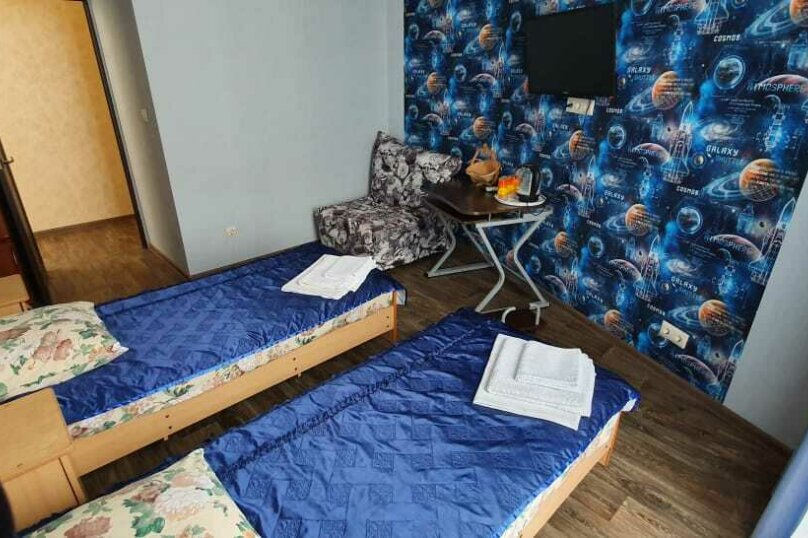 Двухкомнатный номер (корпус с зеленой кухней), Приморская улица, 12А, Дивноморское - Фотография 11
