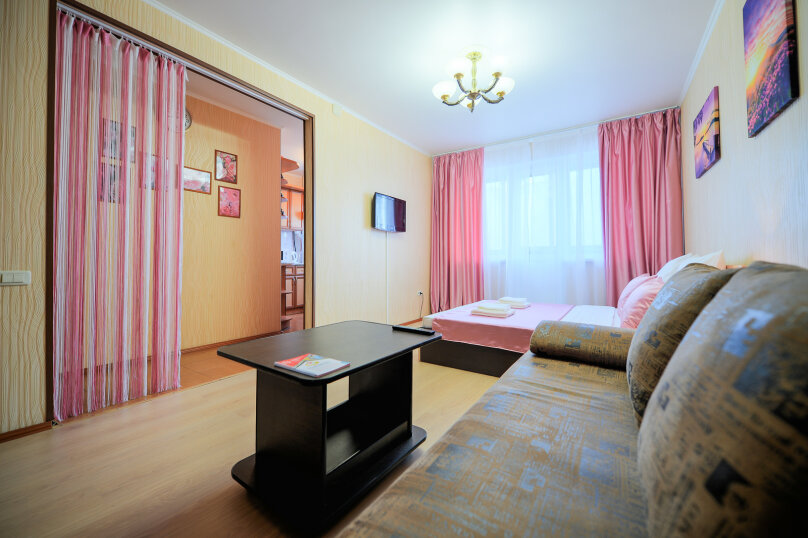 1-комн. квартира, 30 кв.м. на 4 человека, улица Энгельса, 43А, Челябинск - Фотография 6