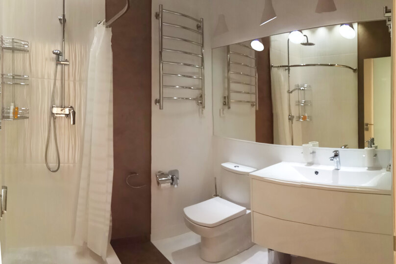 3-комн. квартира, 92 кв.м. на 6 человек, Прибрежная улица, 7к1, Партенит - Фотография 10