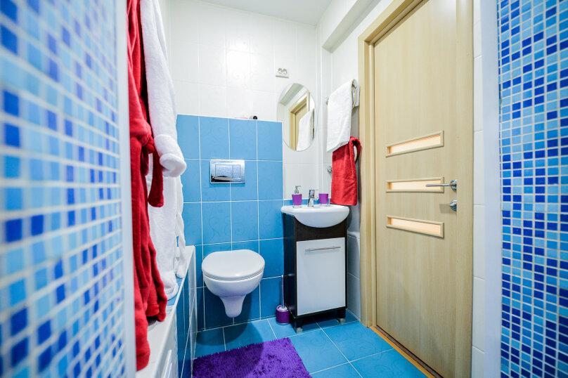 2-комн. квартира, 54 кв.м. на 4 человека, улица Свободы, 141, Челябинск - Фотография 16