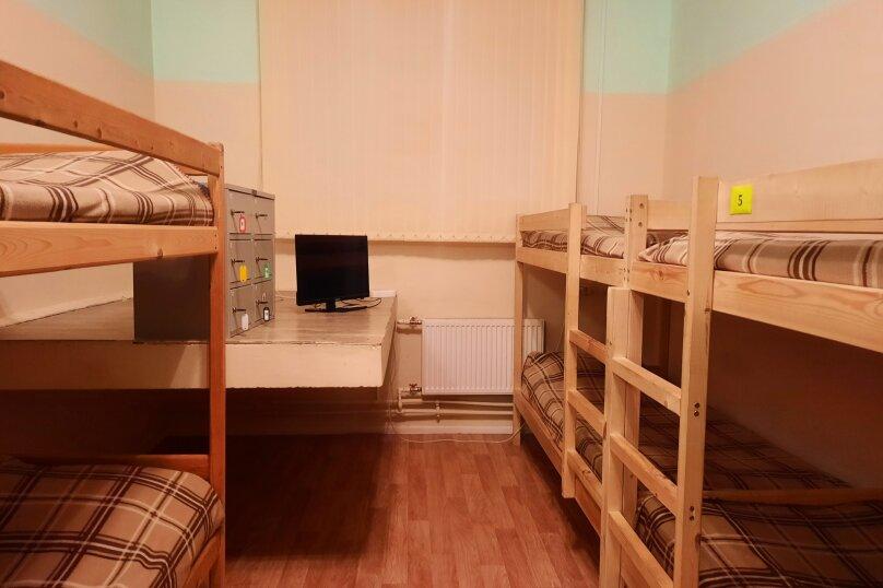 Кровать в 8-местном общем мужском номере, Гусарская улица, 4к3, Пушкин - Фотография 1