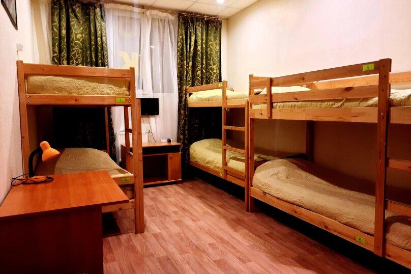Кровать в 6-местном общем женском номере, Гусарская улица, 4к3, Пушкин - Фотография 1