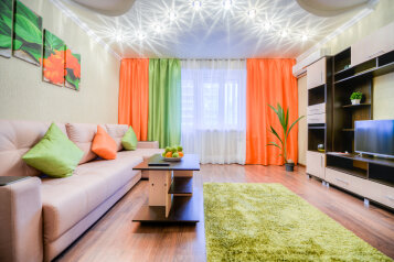 2-комн. квартира, 66 кв.м. на 4 человека, улица 250-летия Челябинска, 23, Челябинск - Фотография 1