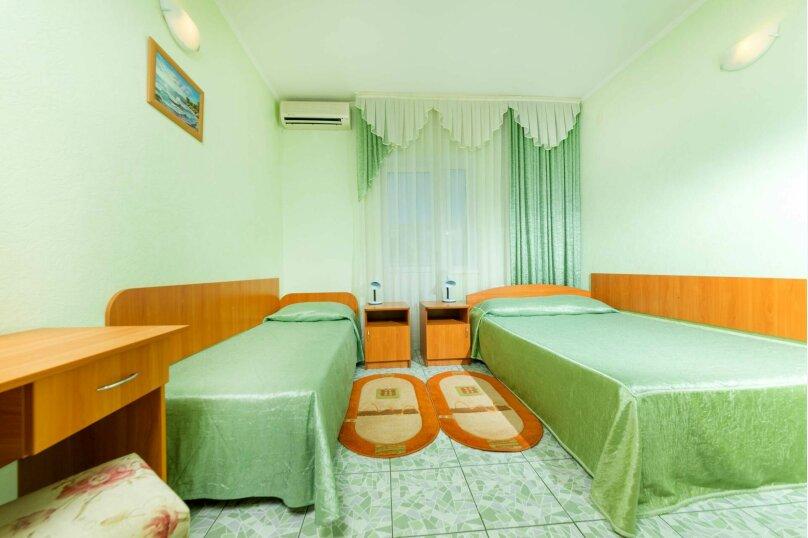 Стандартный 2х местный номер с отдельными кроватями, улица Самбурова, 177, Анапа - Фотография 1