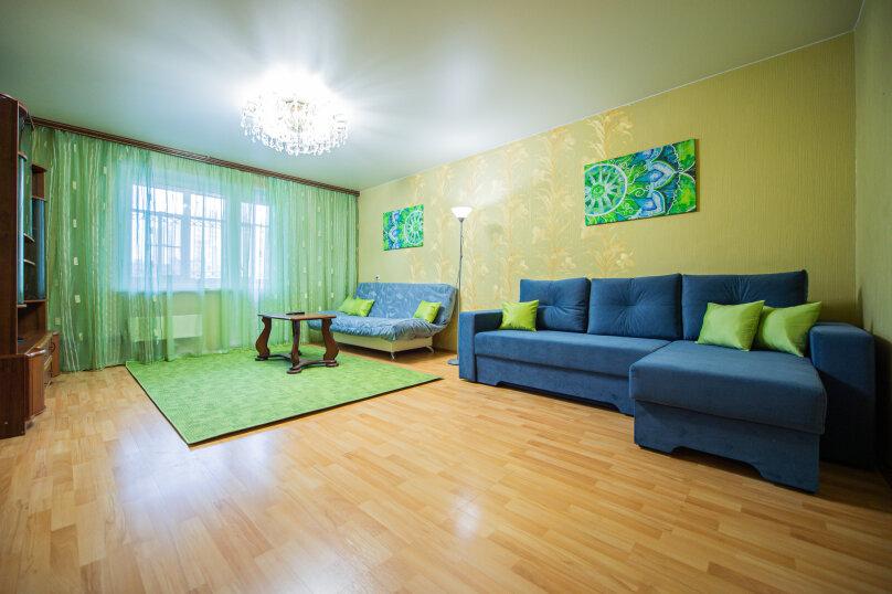 3-комн. квартира, 117 кв.м. на 8 человек, улица Энгельса, 36А, Челябинск - Фотография 5