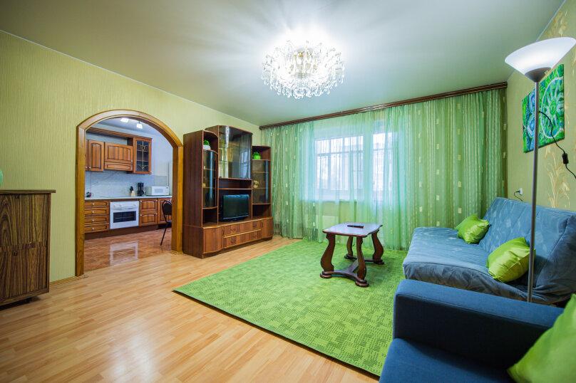 3-комн. квартира, 117 кв.м. на 8 человек, улица Энгельса, 36А, Челябинск - Фотография 7