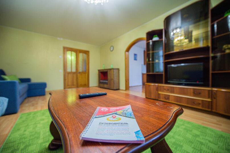 3-комн. квартира, 117 кв.м. на 8 человек, улица Энгельса, 36А, Челябинск - Фотография 8
