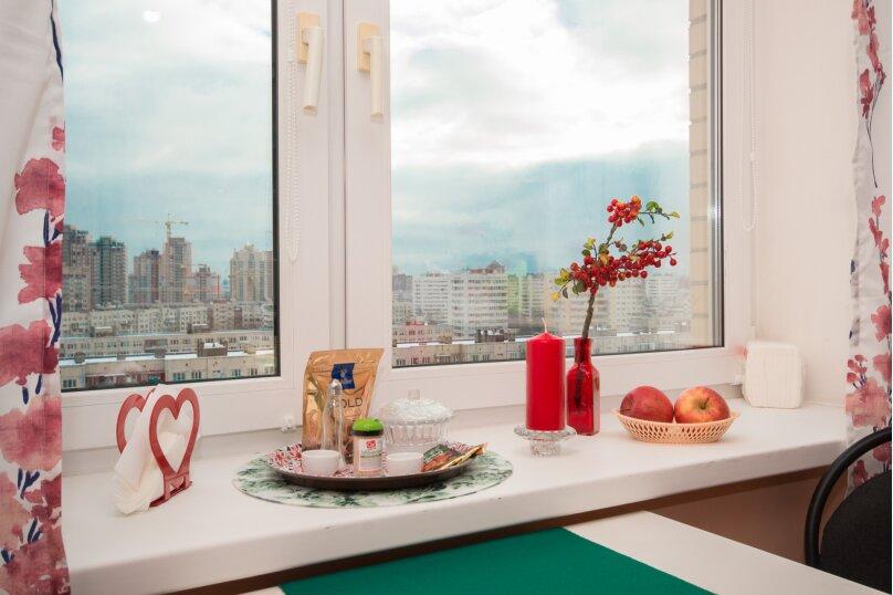 1-комн. квартира, 30 кв.м. на 3 человека, улица Ивана Фомина, 7к3, Санкт-Петербург - Фотография 2