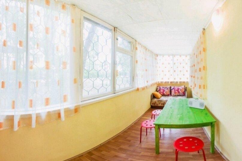 2-комн. квартира, 45 кв.м. на 5 человек, Солнечная улица, 7, Партенит - Фотография 6