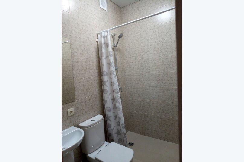 1-комн. квартира, 45 кв.м. на 2 человека, переулок Короленко, 1/1, Ейск - Фотография 3