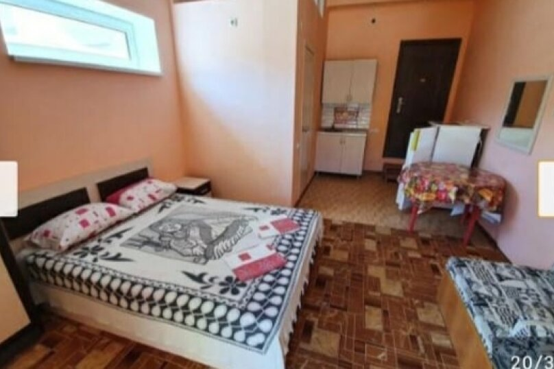 Стандарт + 3 -х местный с кухней, Жемчужная улица, 4, Витязево - Фотография 1
