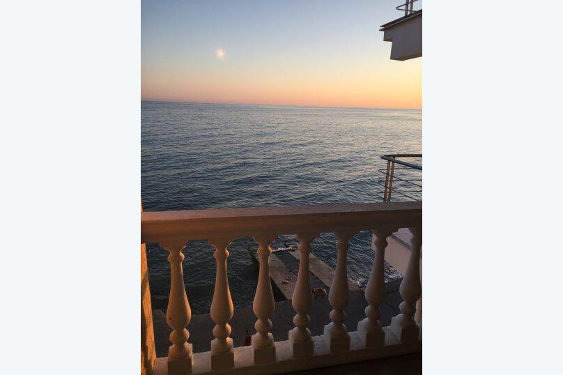 Двухместный номер с видом на море с балконом, Азовская, 18, Лоо - Фотография 4