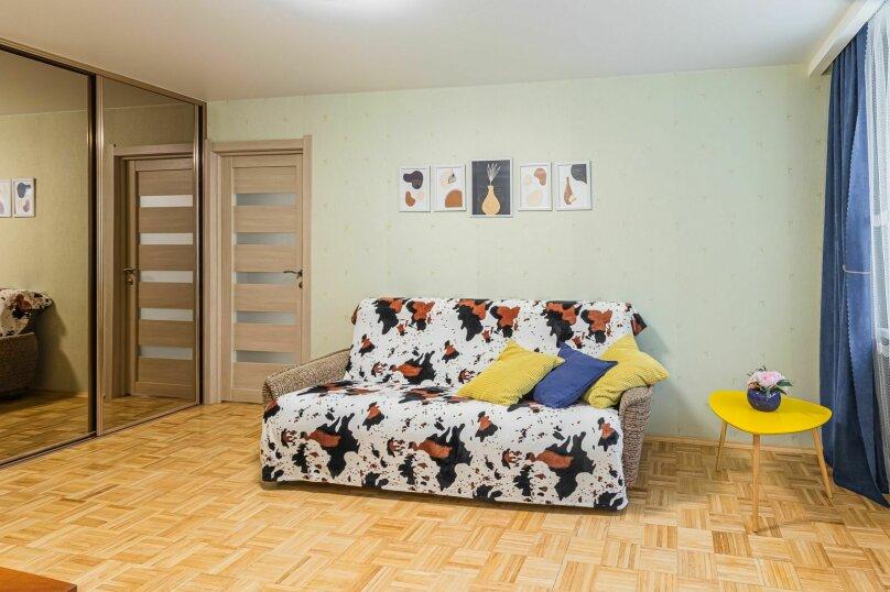 2-комн. квартира, 53 кв.м. на 4 человека, улица Короленко, 19, Нижний Новгород - Фотография 3