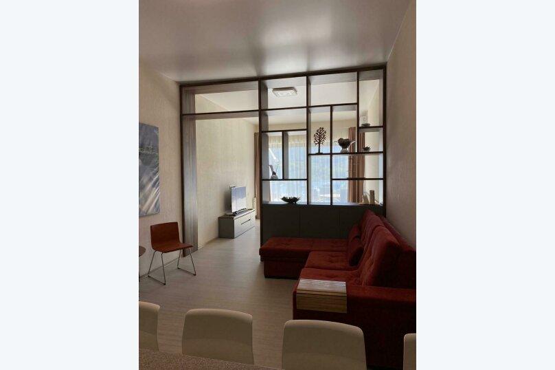 1-комн. квартира, 60 кв.м. на 4 человека, улица Васильченко, 6В, Партенит - Фотография 4